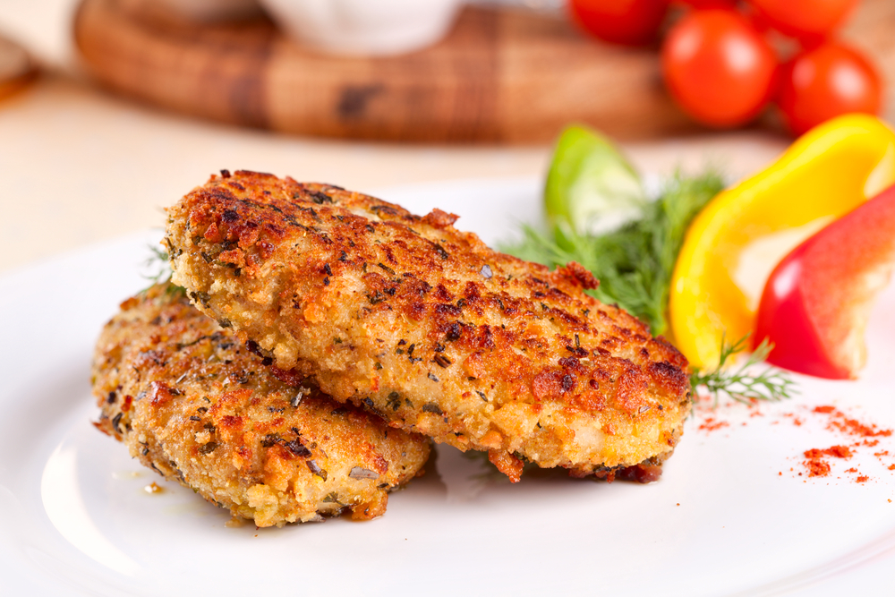 Smoked fish and kumara hash cakes