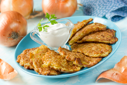 Cheese and Kumara Fritters