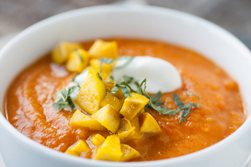 Comforting Corn and Kumara Soup