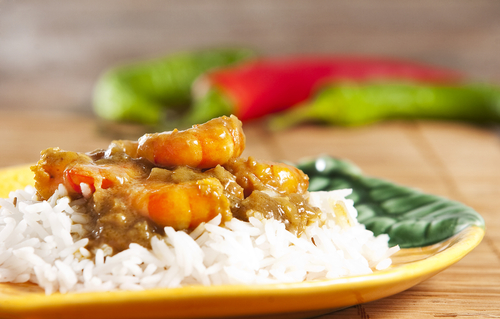 Thai Sweet Chilli Prawn and Kumara Curry