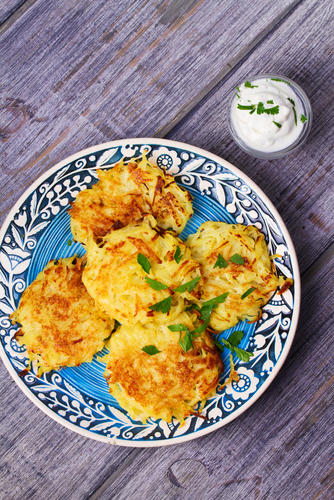 Kumara and Peanut Patties